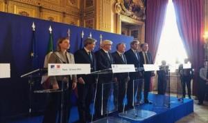 وزراء خارجية الولايات المتحدة وبريطانيا وفرنسا وألمانيا وإيطاليا