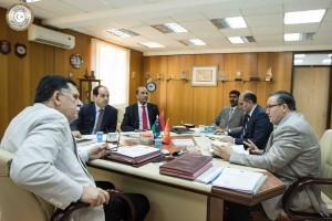 الرئاسي يلتقي مع محافظ مصرف ليبيا المركزي