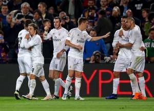 ريال مدريد يفوز على برشلونة بهدفين لهدف ضمن الدوري الاسباني