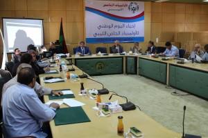 احياء اليوم الوطني للأولمبياد الخاص الليبي بمقر الهيئة العامة لصندوق التضامن الاجتماعي