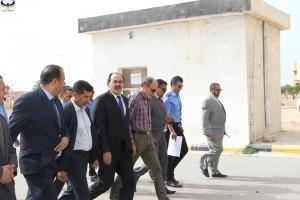 افتتاح المعبر الحدودي رأس اجدير بين ليبيا تونس