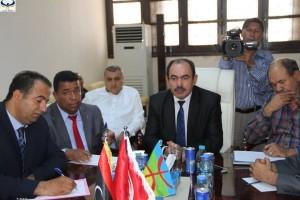افتتاح المعبر الحدودي رأس اجدير بين ليبيا تونس0