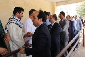 الرئاسي يزور مدينة مصراتة ويقدم واجب العزاء في شهداء تفجير بوقرين