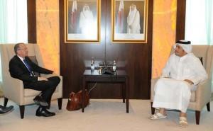 كوبلر في قطر بعد زياراته للامارات