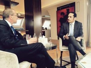 كوبلر يلتقي مع وزير خارجية قطر قبيل اجتماع فيينا
