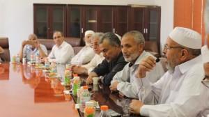 وفد من المجلس العسكري و أعيان وحكماء ومؤسسات المجتمع المدني صبراتة يزور مدينة مصراتة 9