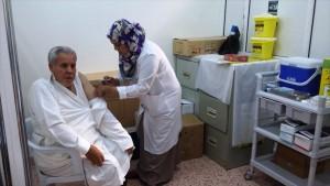 بدء اجراءات الكشف الطبي لحجاج بيت الله الحرام لهذا العام
