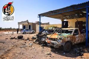 داعش يستهدف 'البنيان المرصوص' بـ3 مفخخات