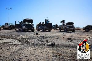 داعش يستهدف 'البنيان المرصوص' بـ3 مفخخات0