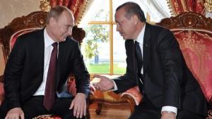أردوغان يزور روسيا في التاسع من أغسطس