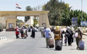 فتح معبر رفح بين قطاع غزة ومصر