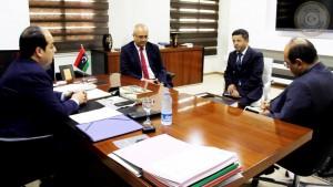 معيتيق يلتقي سفير دولة تركيا لدى ليبيا