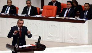 اردوغان في البرلمان التركي