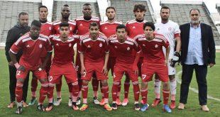 بعثة فريق الاتحاد الأول لكرة القدم تصل طرابلس