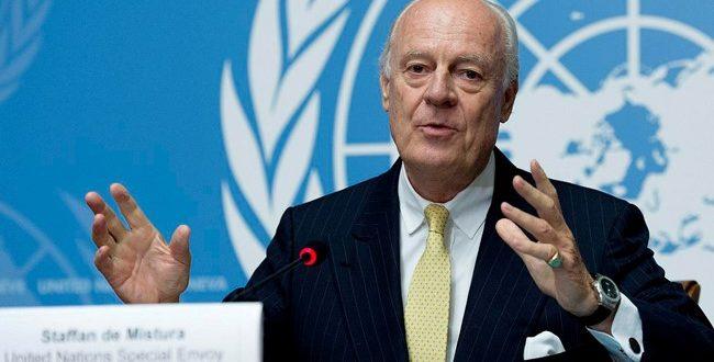 دي ميستورا يعلن انتهاء مفاوضات جنيف 6