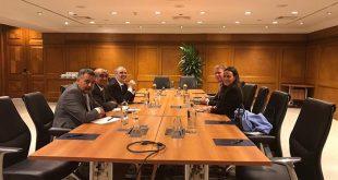 صنع الله يجتمع مع نائب الرئيس التنفيذي لشركة ستات اويل النرويجي