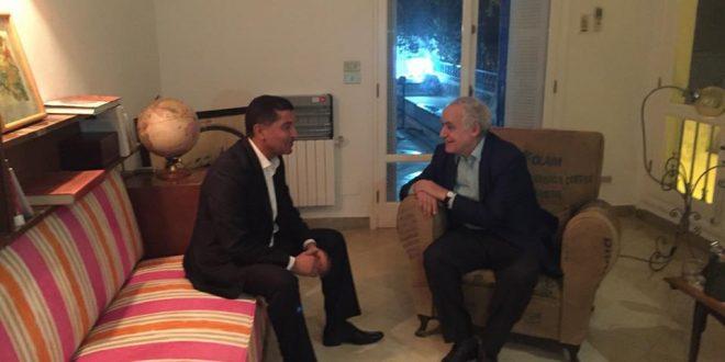 عميد زواره يدعو سلامة إلى عقد لقاء موسع مع أمازيغ ليبيا