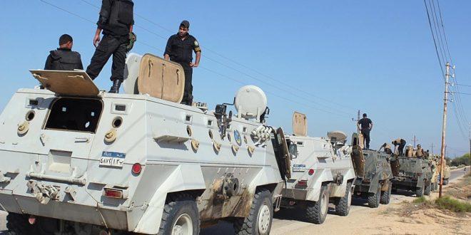 مقتل 6 جنود مصريين في هجوم مسلح شمال سيناء