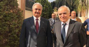 المبعوث الأممي الى ليبيا يلتقي حفتر