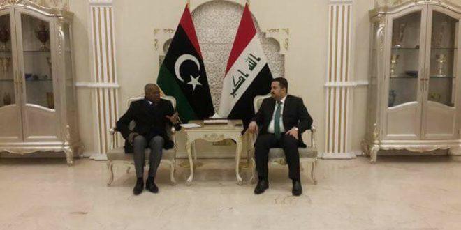 وزير العمل بحكومة الوفاق يبحث مع نظيره العراقي اوجه التعاون المشترك