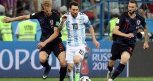 بثلاثية نظيفة كرواتيا تسحق الأرجنتين