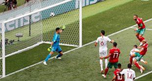 البرتغال تفوز على المغرب بهدف نظيف