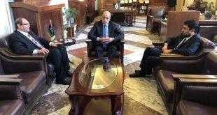 محافظ مصرف ليبيا المركزي يبحث مع وزير المالية الترتيبات المالية لسنة 2019