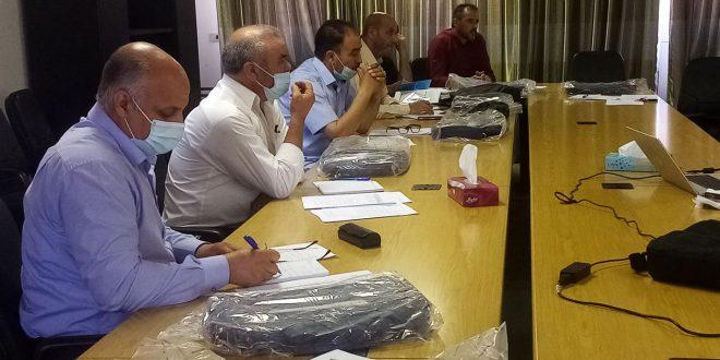 ورشة عمل حول موائمة الخطة الوطنية لمجابهة كورونا للبلديات بجادو