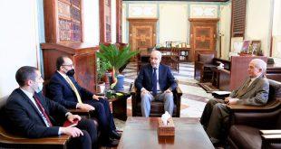المركزي يبحث استمرار التعاون والتنسيق مع البنك التونسي