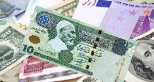 أسعار العملات الأجنبية مقابل الدينار الليبي اليوم الجمعة